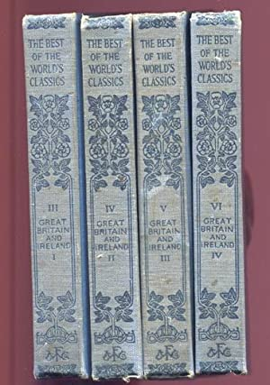 The Best of the World's Classics / Great Britain and Ireland (4 Vols)