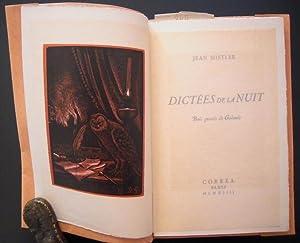 Dictées de la nuit: Mistler, Jean