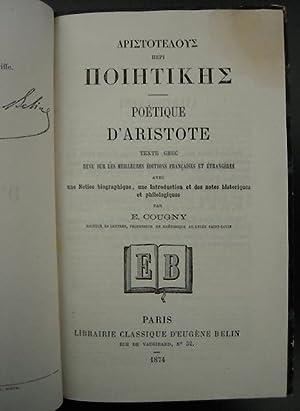Poétique / Aristotelous Peri Poiitikis: Aristote