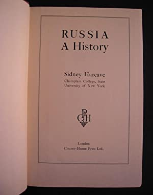 Russia: A History: Harcave, Sidney