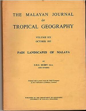 Padi Landscapes of Malaya (Volumes 6 &: EHG Dobby and
