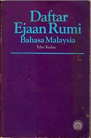 Daftar Ejaan Rumi Bahasa Malaysia: Dewan Bahasa dan