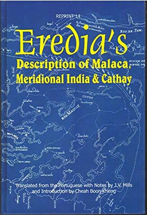 Eredia's description of Malaca, Meridional India, and Cathay