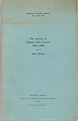The Journal of Thomas Otho Travers, 1813-1820