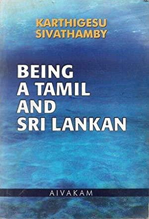Being a Tamil and Sri Lankan