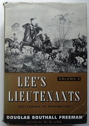 Lee's Lieutenants, A Study in Command: Cedar: Freeman, Douglas Southall