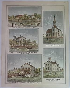 Grand Traverse Region Views: Northport, Leelanau County, Michigan: Page, H. R.