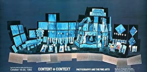 David Hockney: Offset Lithograph, Original Exhibition Poster: 'Content and Context', Photography ...