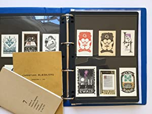 Archival Collection of 200+ ExLibris Ex Libris: Christian Blaesbjerg