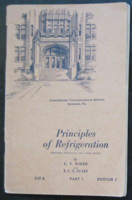 Principles of Refrigeration, 5127A, Part 1, Edition: Baker, C. T.