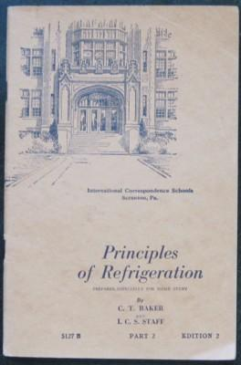 Principles of Refrigeration, 5127B, Part 2, Edition: Baker, C. T.