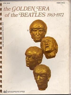 The Golden Era of the Beatles 1963-1972: Ryerson, Bill, editor