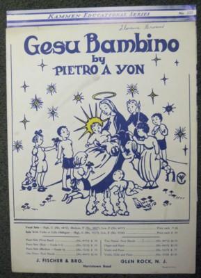 Gesu Bambino: Yon, Pietro A.