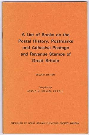 A list of books on the postal: STRANGE A.M.