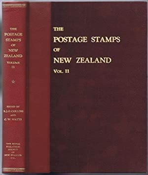 The postage stamps of New Zealand. -: COLLINS J.G. WATTS