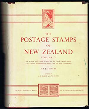 The postage stamps of New Zealand. - Vol. V: COLLINS J.G. WATTS C.W.
