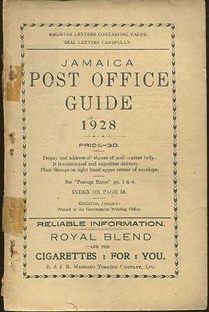 Post Office Handbook, Jamaica, 1928.: JAMAICA