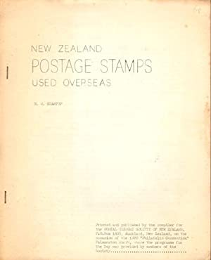 New Zealand Postage Stamps used Overseas.: STARTUP R.M.
