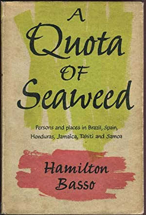 A quota of seaweed. - Persons and: BASSO H.