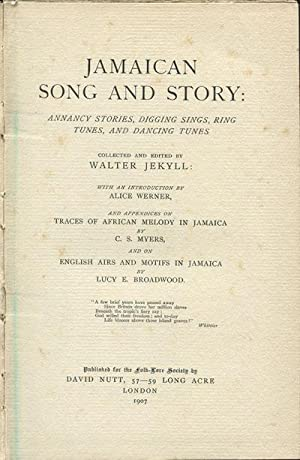Jamaican song and story. - Annancy stories,: JEKYLL W.