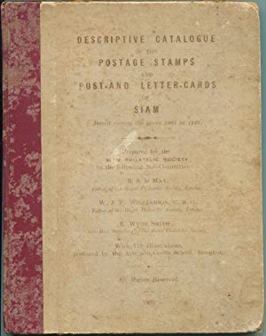 Descriptive catalogue of the postage stamps and: MAY R.S.le WILLIAMSON