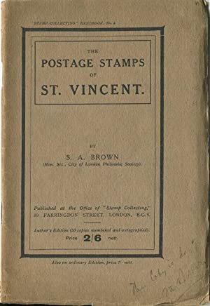 The postage stamps of St Vincent.: BROWN S.A.