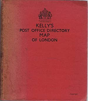 Kelly's Post Office Directory Map of London: KELLY