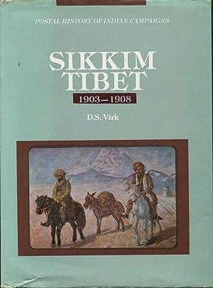 Sikkim-Tibet 1903-1908 - Postal History of Indian: VIRK Brig. D.S.