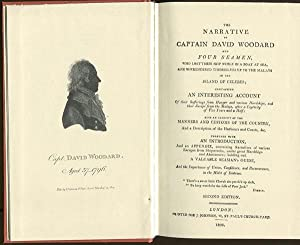 The narrative of Captain David Woodward and four seamen, - who lost their ship while in a boat at ...