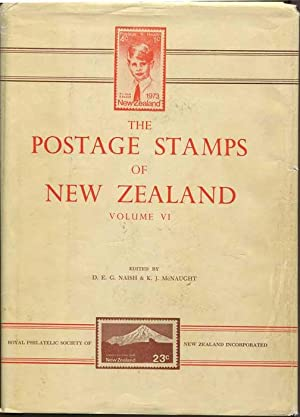 The postage stamps of New Zealand. Vol: NAISH D.E.G. MCNAUGHT