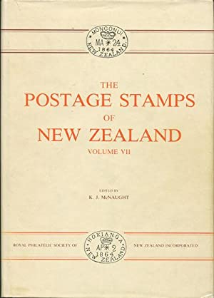 The postage stamps of New Zealand. -: MCNAUGHT K.J.