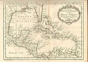 Carte de Golphe du Mexique et des Isles de l'Amerique - Pour servir a l'Histoire Generale...