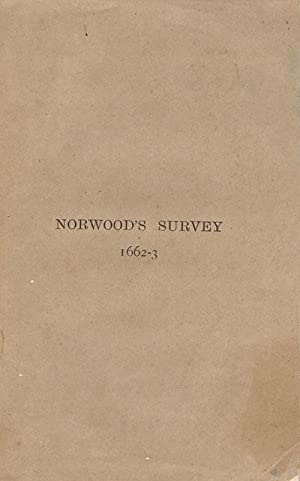 Book of the survey of Bermuda by Richard Norwood. - 1662-3. Reprinted from the trustees of the ...