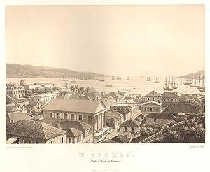 St Thomas. - (Parti af byen og havnen): BAERENTZEN E.