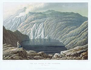 The Old Crater of the Soufriere, St Vincent.: CADDY Lieut. J.H.