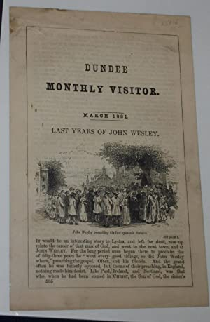 Dundee Monthly Visitor: Last Years of John Wesley, March 1881