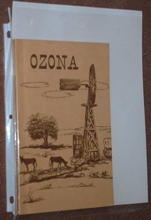 Ozona (Texas Crockett County 1891-1966): Carson, Ira (editor)