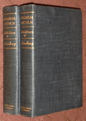 Abraham Lincoln: The War Years, Volume Three (III) and Four (IV), 2 Volume Set: Sandburg, Carl