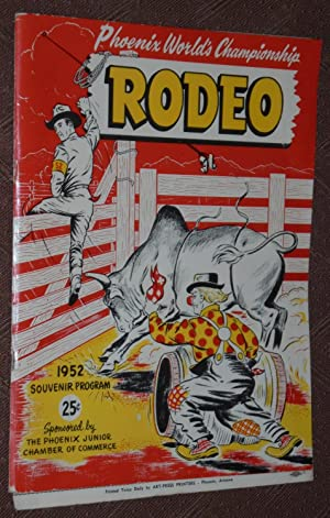 Phoenix World Championship Rodeo Souvenir Program, 1952