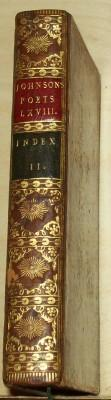 The Works of the English Poets : Index to the English Poets, Vol. LXVIII: Volume the Second: ...