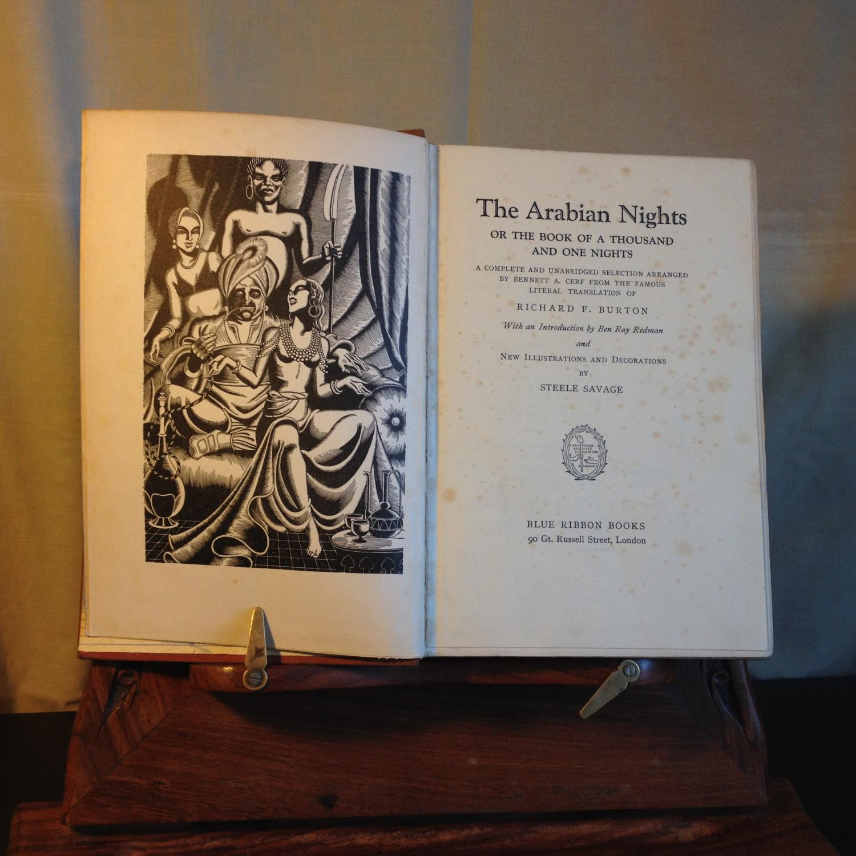 Mata sentido silbar  The Arabian Nights, or, The Book of a Thousand and One Nights by Burton, Richard  F (trans): Fair Hardcover (1933) | Michael Napier