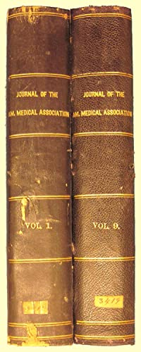 Journal of the American Medical Association AMA Bound Run 1883-87