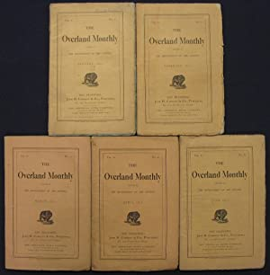 The Grizzly Papers in Overland Monthly. January through April and June 1870, a complete run.