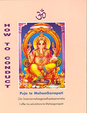 How to Conduct Puja to MahaaGanapati