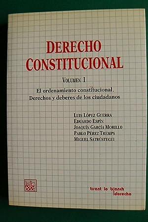 Derecho constitucional: López Guerra, Luis . [et al.]