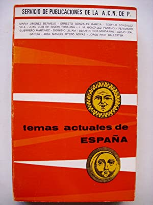 Temas actuales de España: Jiménez Bermejo, María
