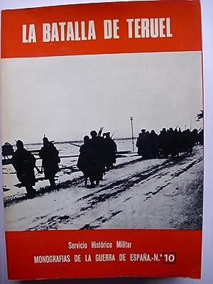 La Batalla de Teruel: Martínez Bande, José