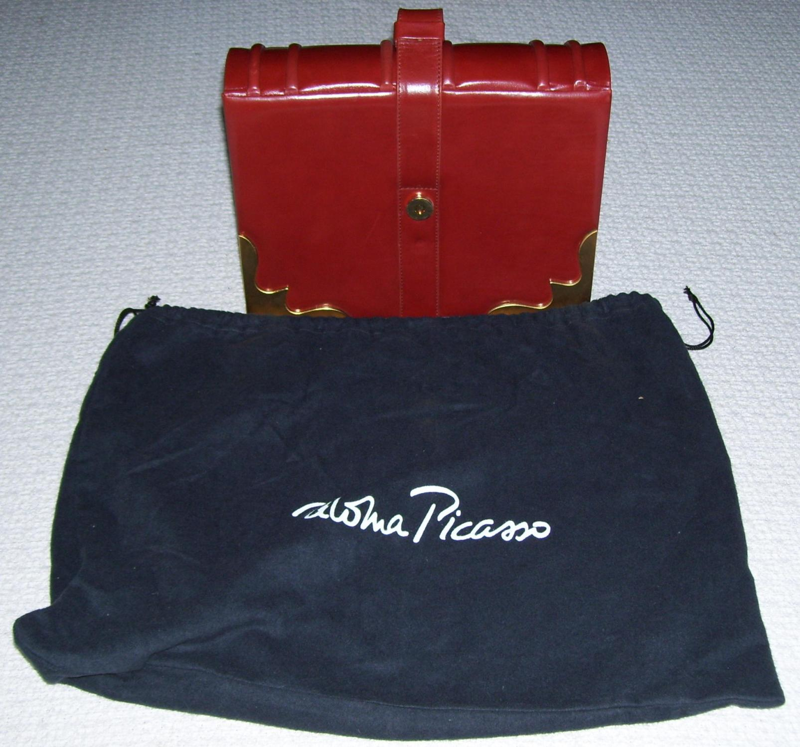Paloma Picasso Book Purse
