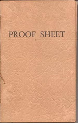Proof Sheet of the Smallest Printed Book: Thompson, Eben Francis