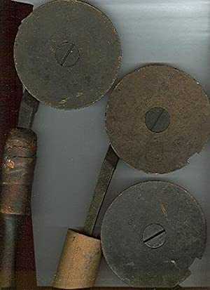 Group of Ten Bookbinder's Finishing Tools